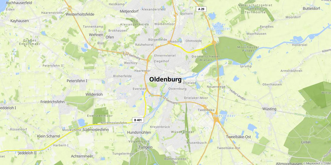 Fussgangerzone Oldenburg Karte.Fussgangerzone Oldenburg