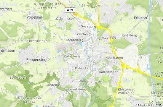 Niedersachsen Karte Mit Städten.Lüneburg Lebendige Hansestadt