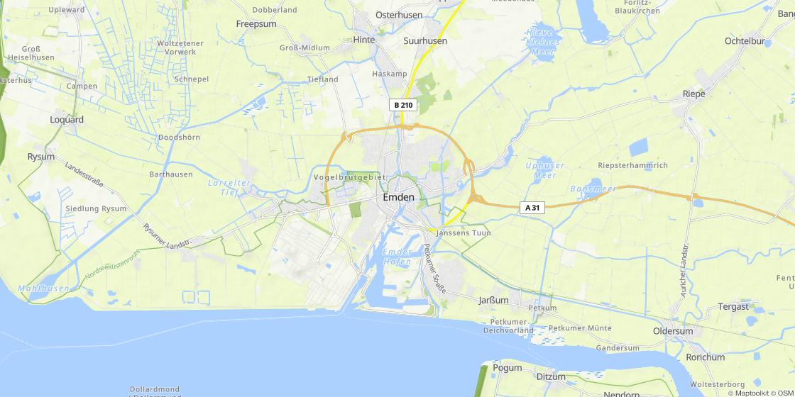 Emden Karte.Emden Marketing Tourismus Gmbh
