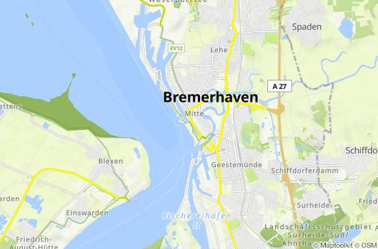 Side T303274rkei Karte.Weser Radweg Karte Pdf