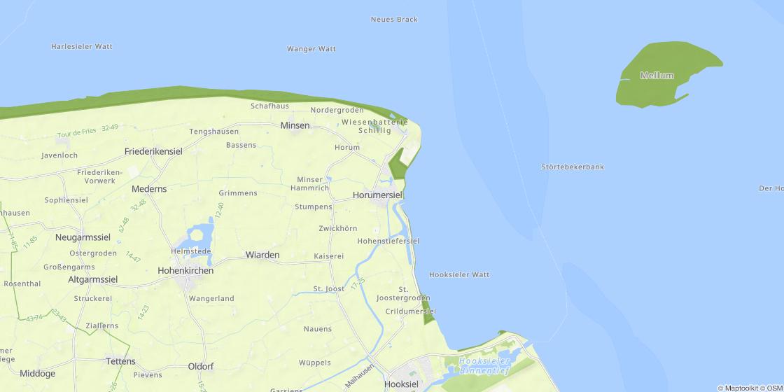 K303274ste Algarve Karte.Horumersiel Karte