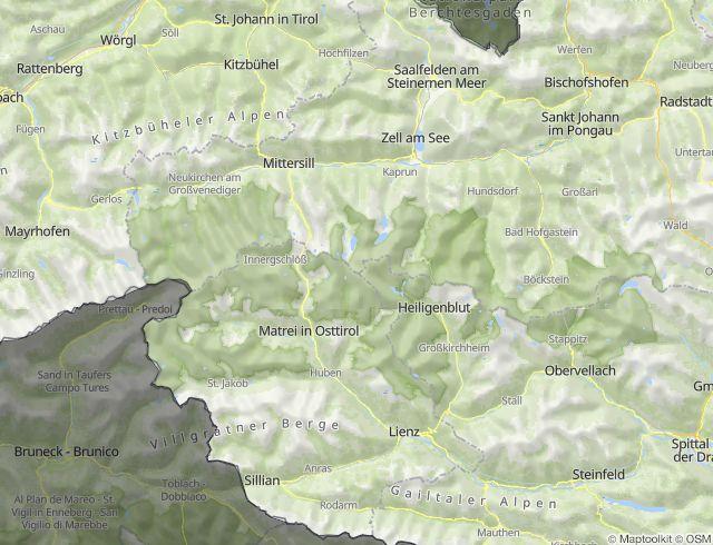 Hohe Tauern Karte.Nationalpark Hohe Tauern In österreich Ein Naturwunder